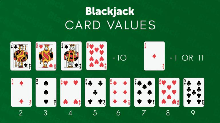 Blackjack Karten Werte
