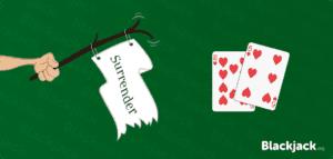Blackjack surrender rules